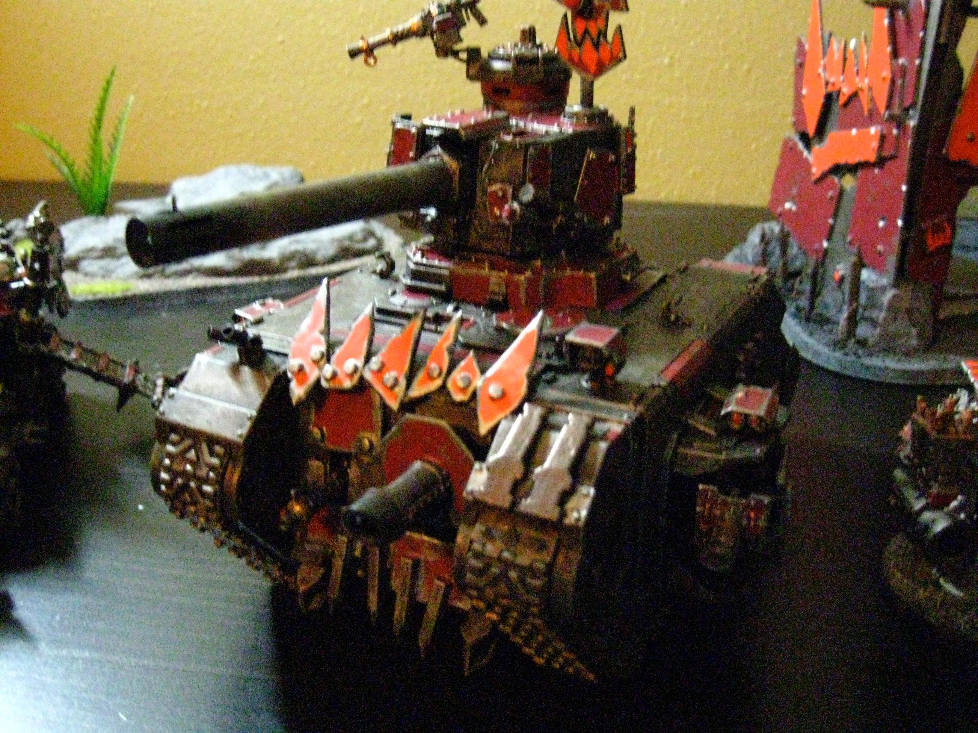 Battlewagon, Conversion, Dakka Dakka, Orks, Shoota Boyz