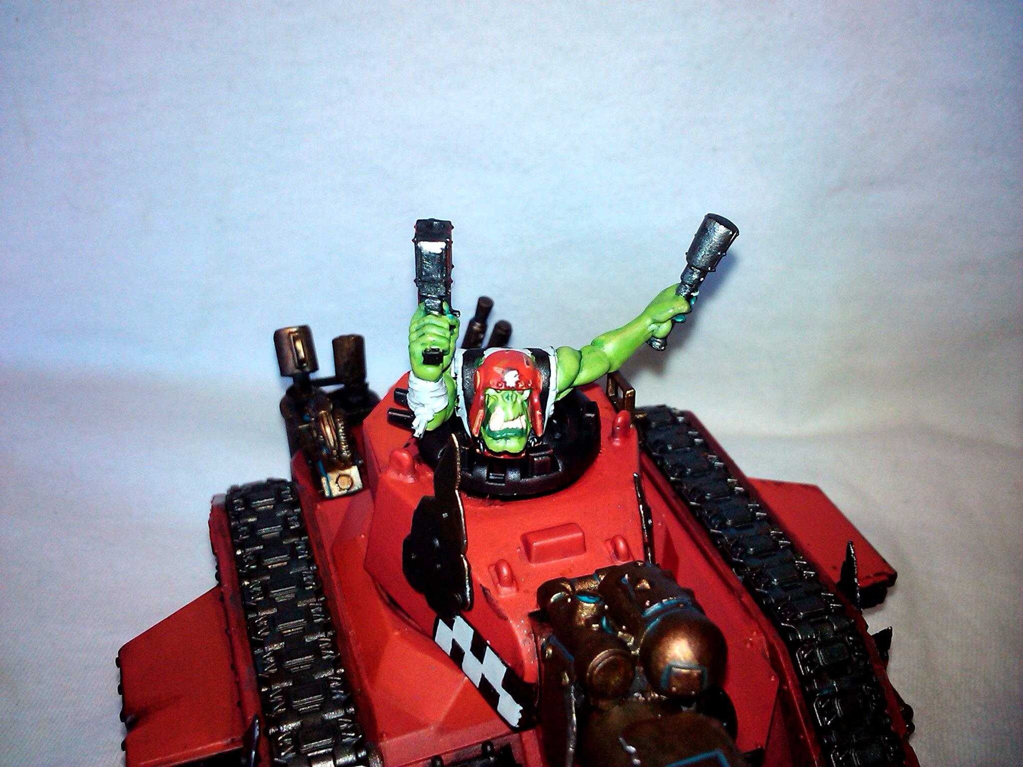 Orks, Tank, Warhammer 40,000, Work In Progress
