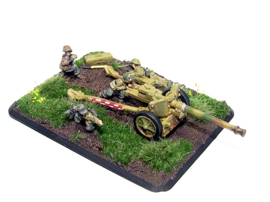 Flames Of War, Germans, Pak40, Ss, World War 2