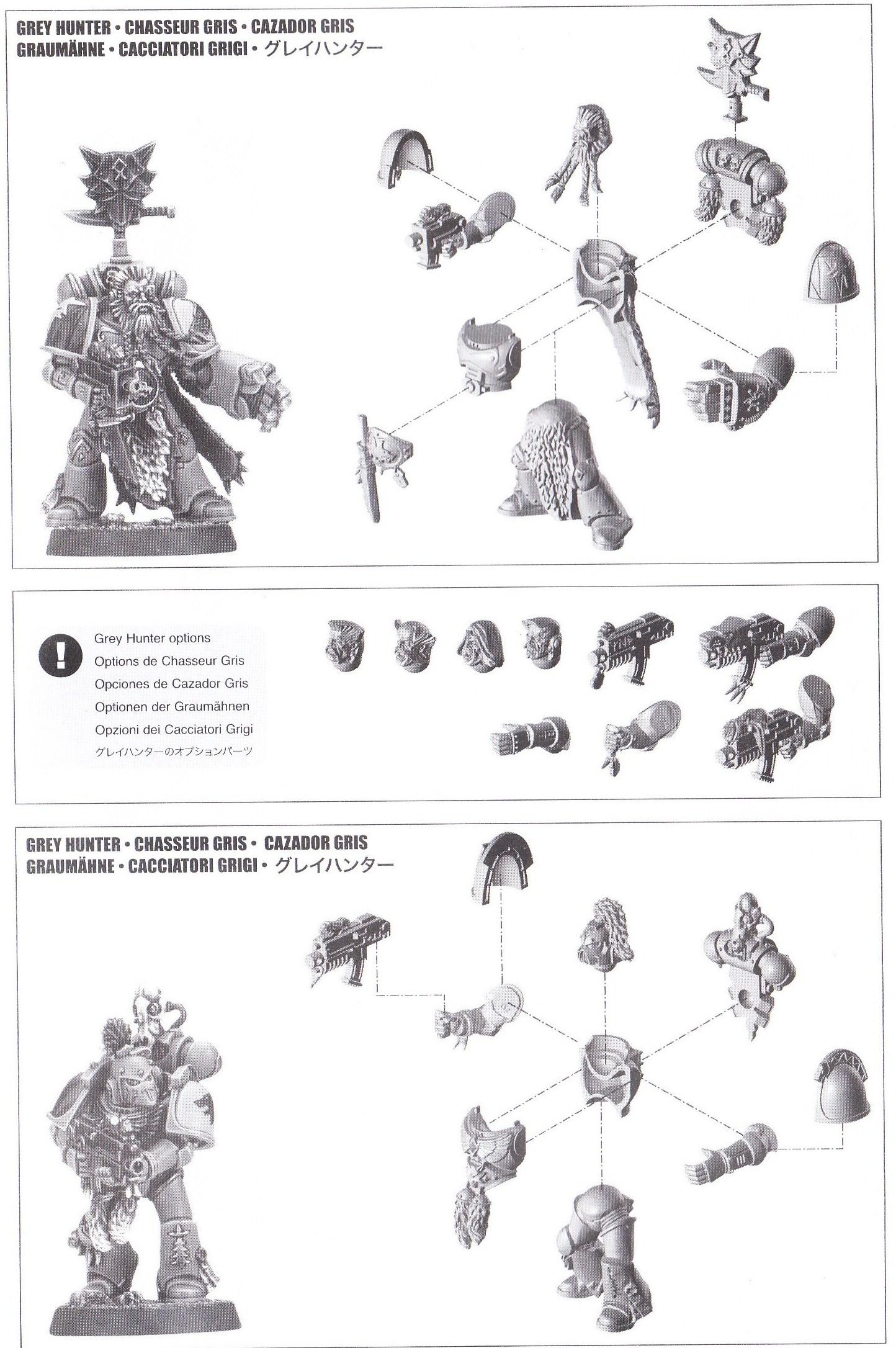 Manual, Space Wolves, Spure