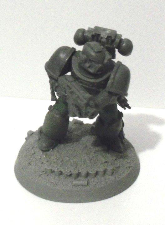 Dark Angels, Space Marines, True Scale