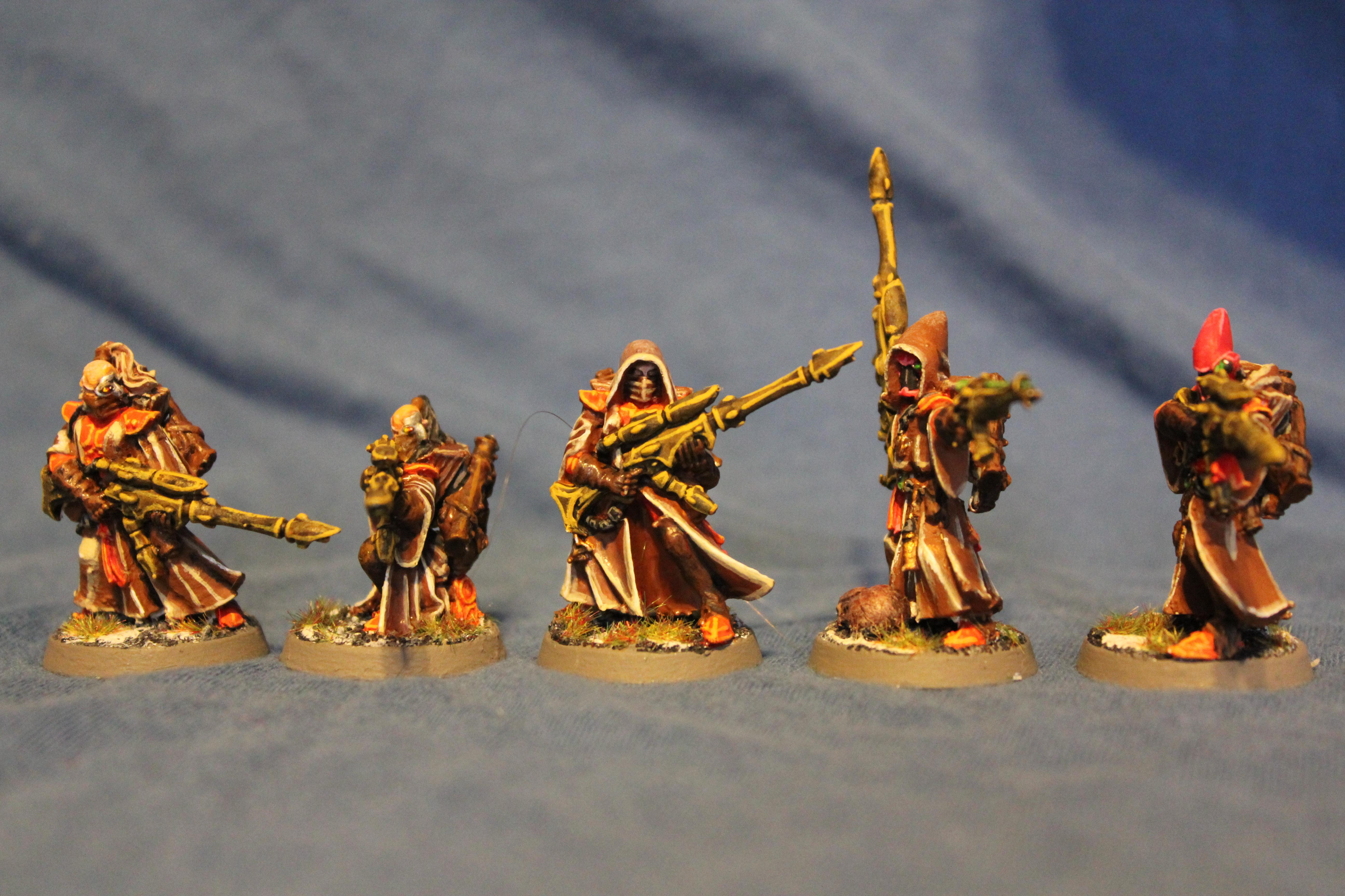 Endar, Rangers, Warhammer 40,000