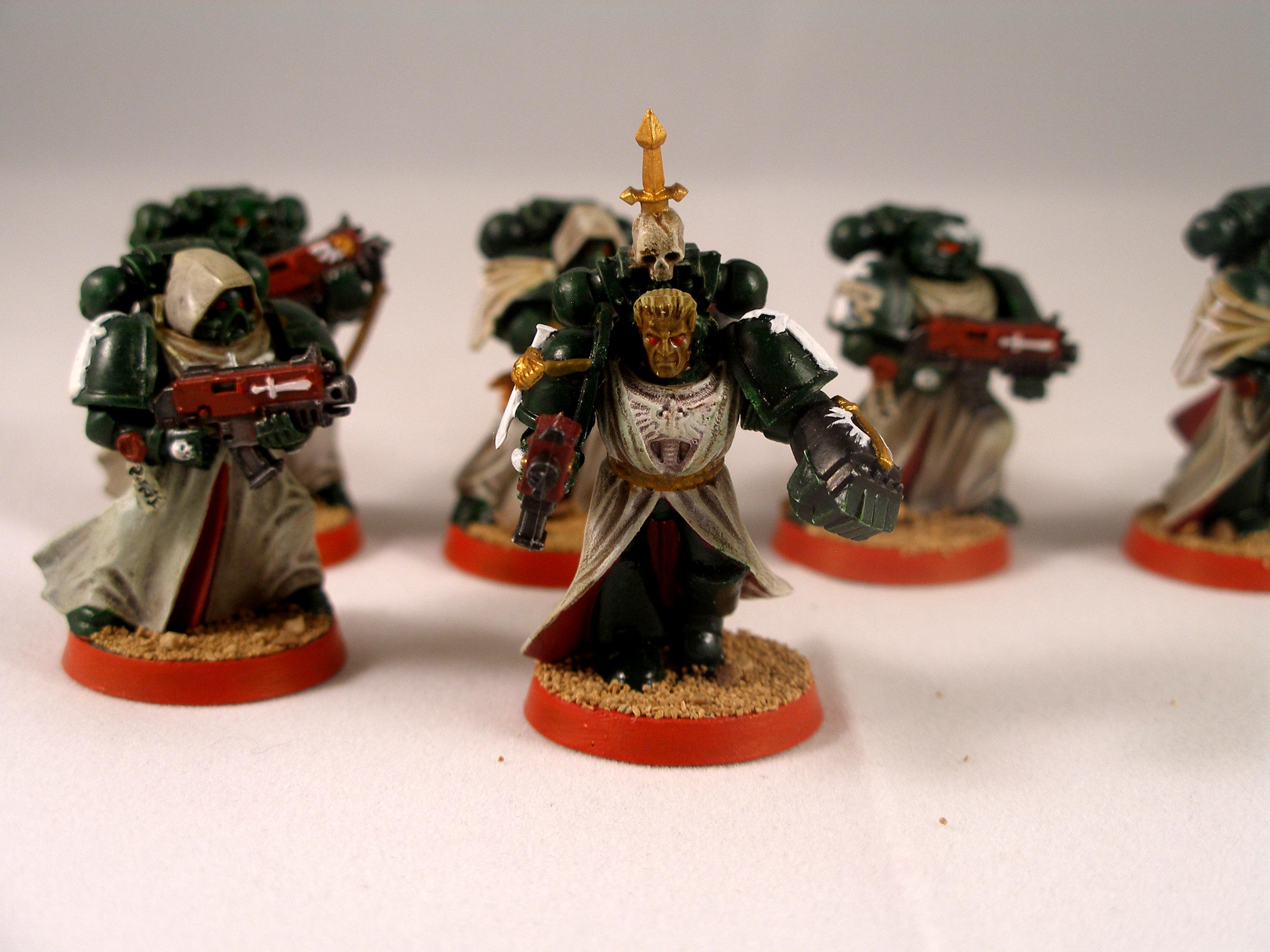 Dark Angels, Space Marines, Tacticle Squad, Warhammer 40,000