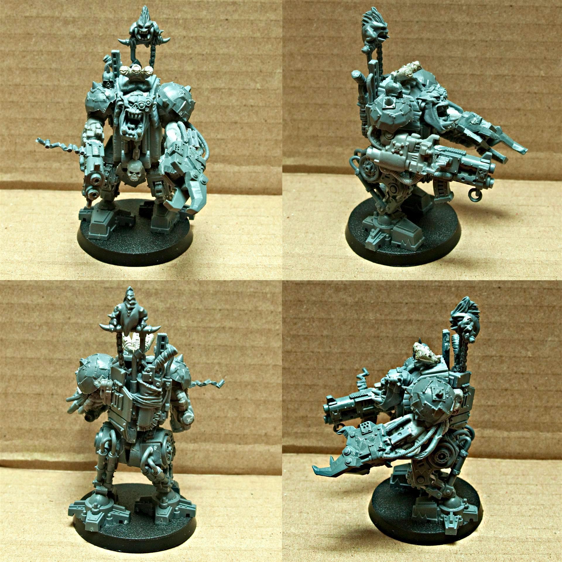 Goff, Goffs, Mega, Mega-armor, Mega-armored, Mega-armour, Orks, Squigs, Warboss