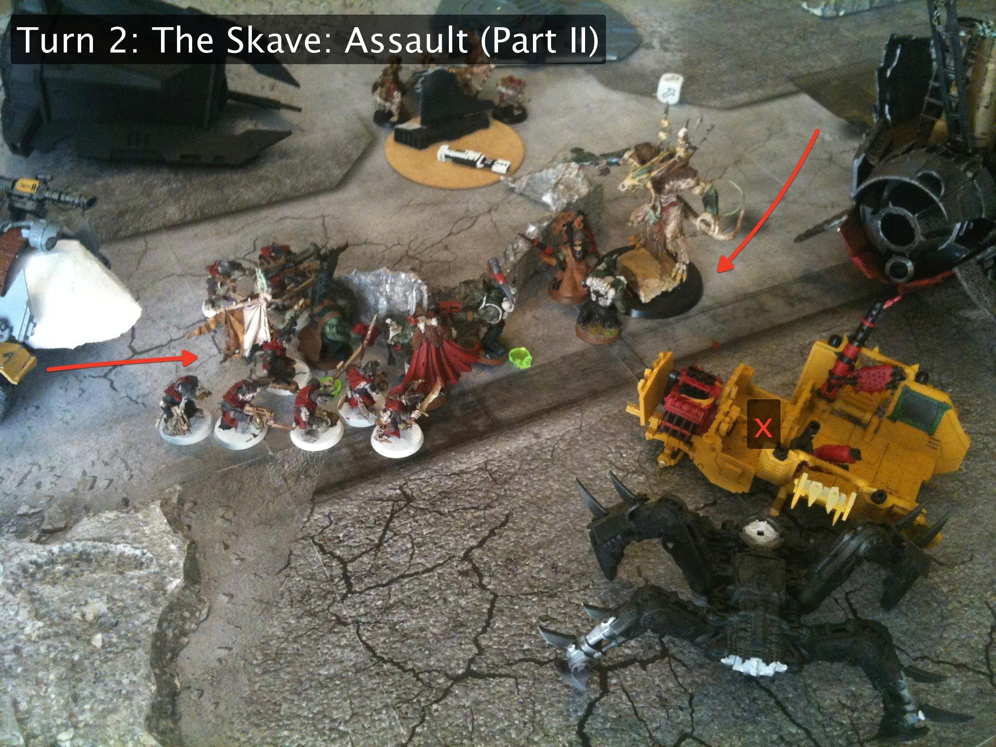 Battle Report, Da Dark Angelz, Orks, The Skave