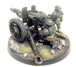 Imperial Guard, Lascannon, Ww1, Wwi