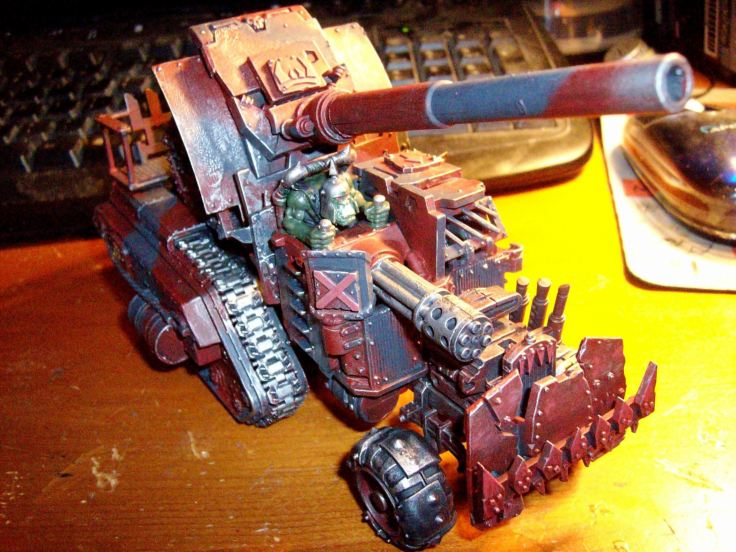 Blood Axe, Looted Wagon, Orks, Trukk