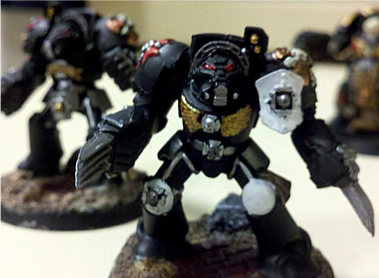Black Templars, Lightning Claw, Terminator Armor