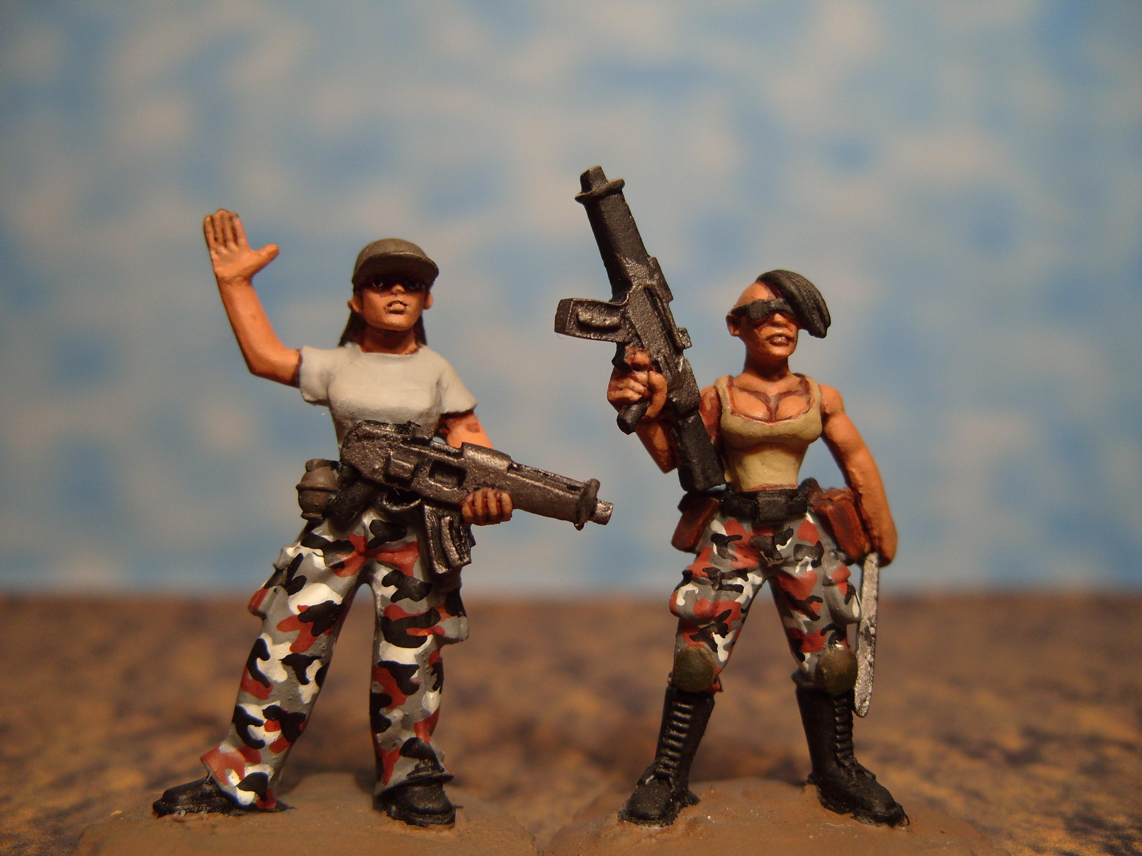 Copplestone, Female, Imperial Guard, Modern