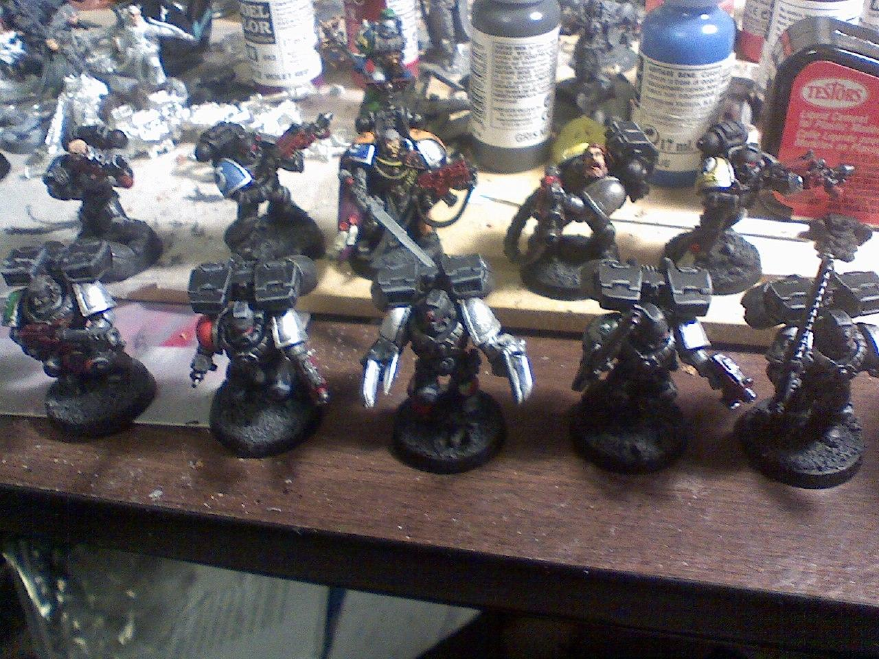 Conversion, Deathwatch, Infantry, Jump Infantry, Lightning Claws, Space Marines, Warhammer 40,000