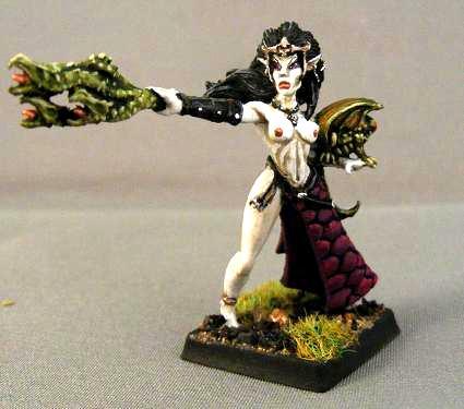 Dark Elves, Female, Nsfw, Sexy, Sorceress, Warhammer Fantasy