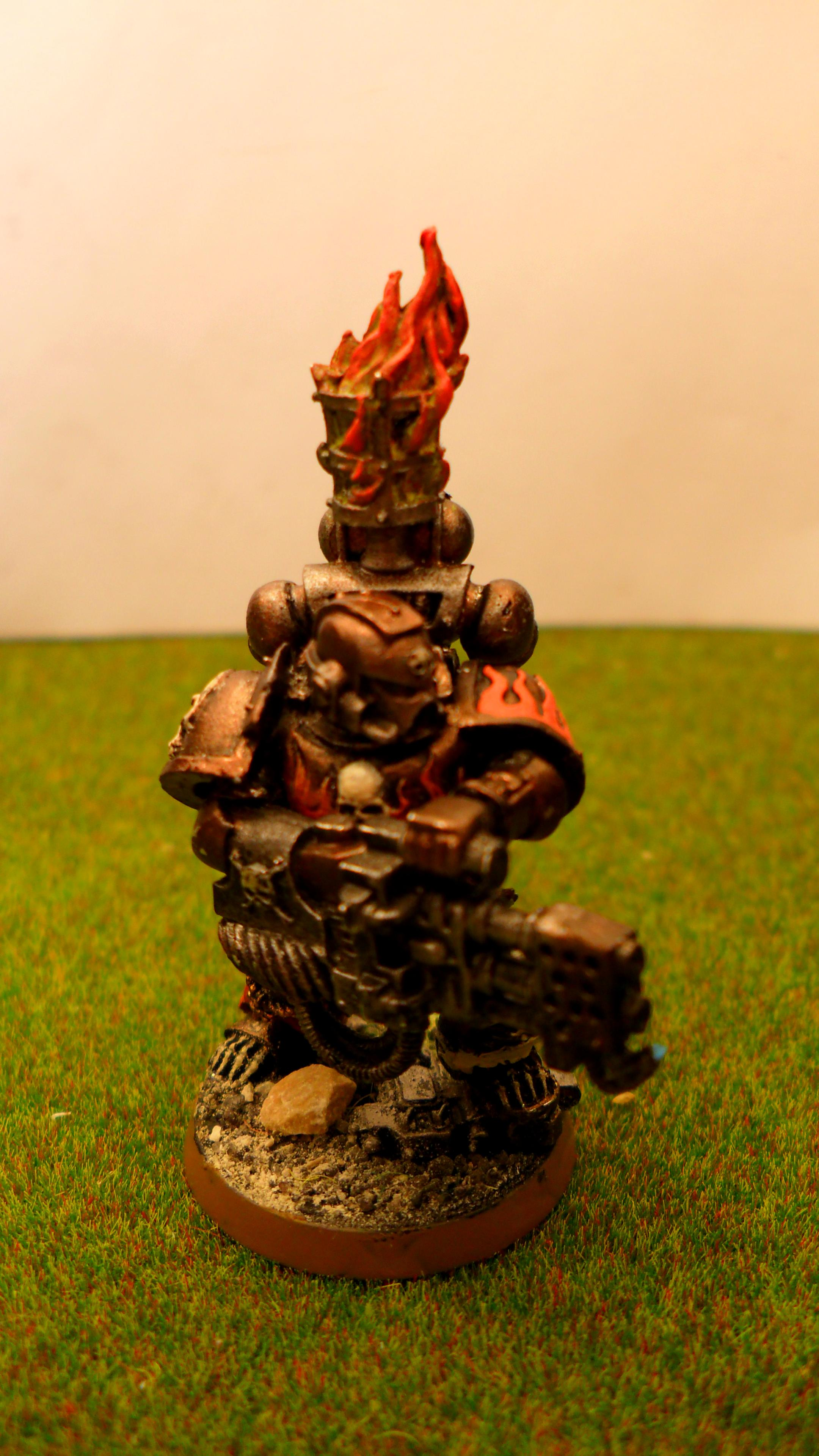 Legion Of The Damned, Pyromaniac, Salamander, Space Marines