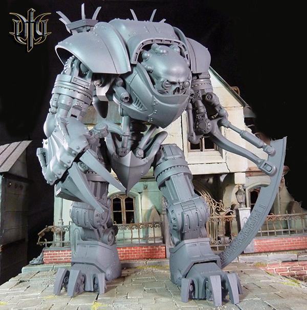 Dreamforge, Leviathan, Titan, Walker