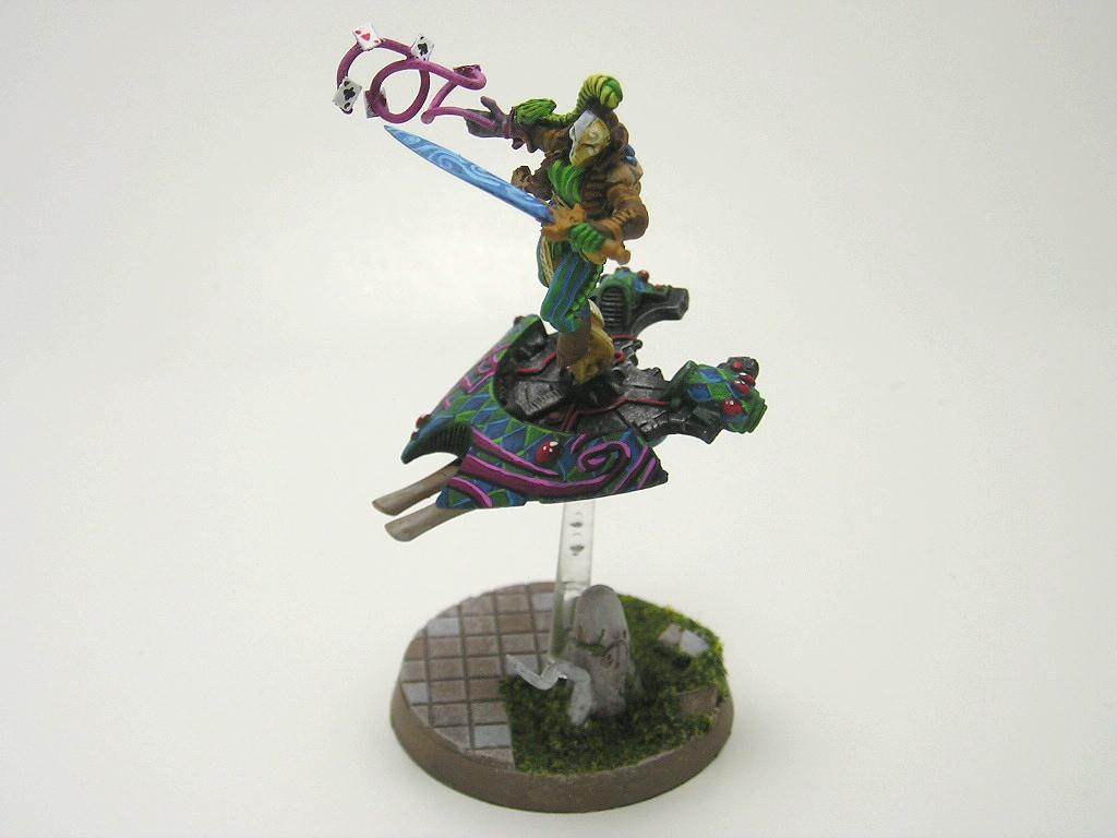 Harlequins, Jetbike, Warlock w/ Destructor 1