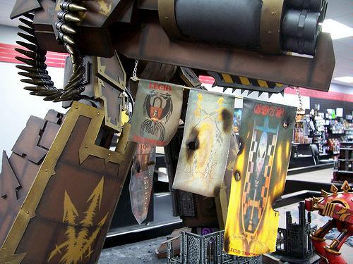 40k Scale Titan, Apocalypse, Chaos, Chaos Titan, Emperor, Emperor Titan, Imperator, Imperator Titan, Scratch Build, Super-heavy, Titan, Warmaster