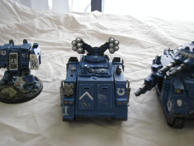 Rhino, Space Marines, Tank, Ultramarines, Whirlwhind