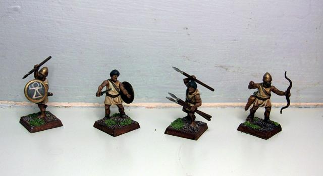 Dipped, Light Infantry, Numidians, Wargames Factory