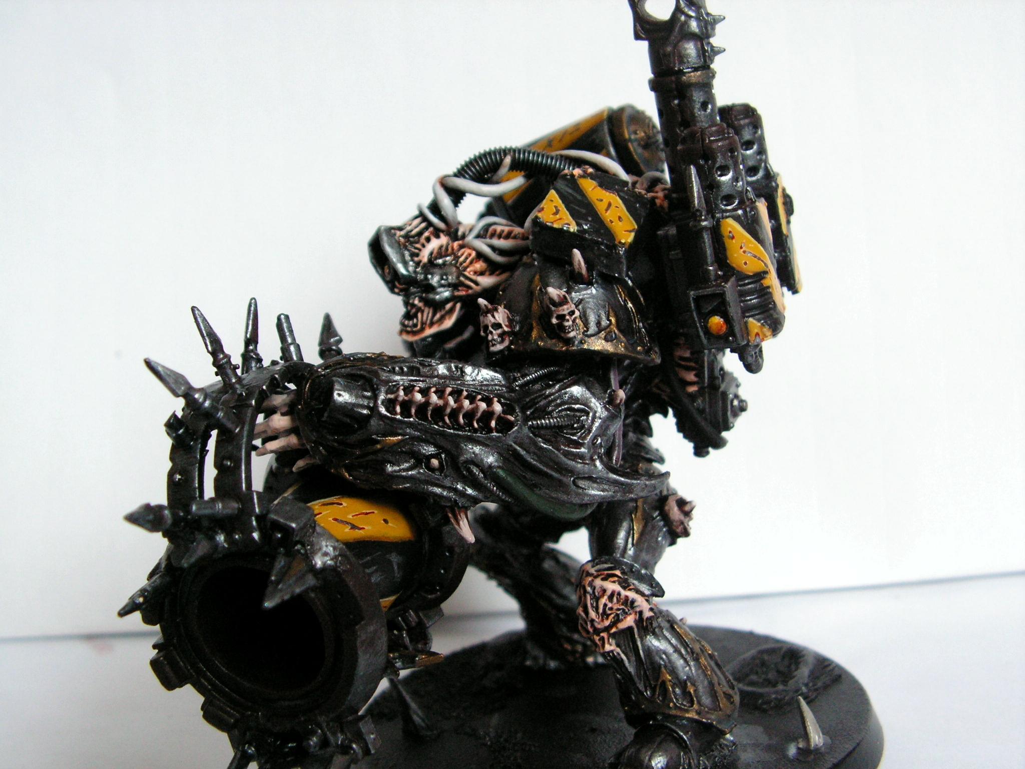 Chaos, Chaos Space Marines, Daemon Prince, Daemons, Iron Warriors