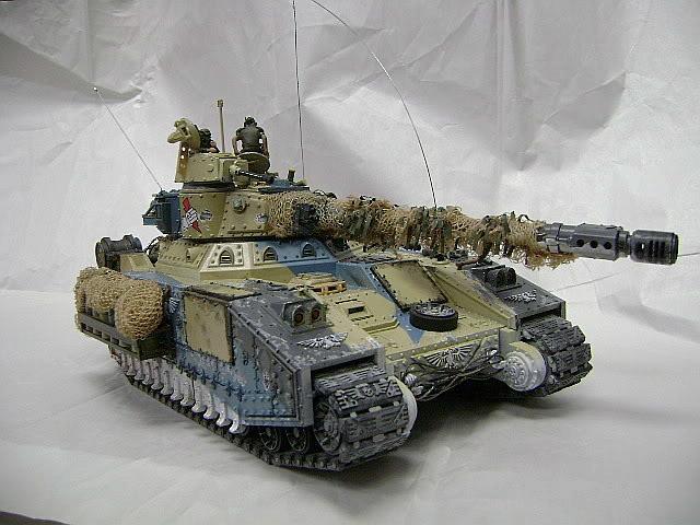 Baneblade, Imperial Guard, Tank, Tracks