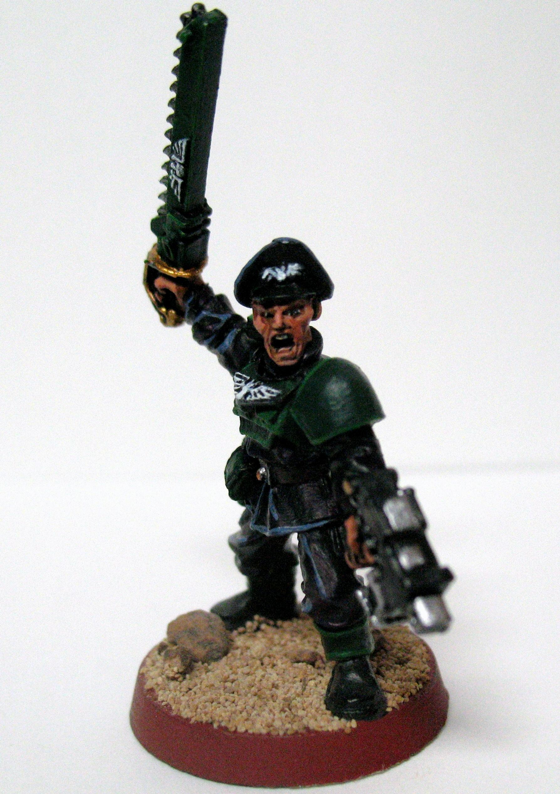 Cadians, Commissar, Imperial Guard
