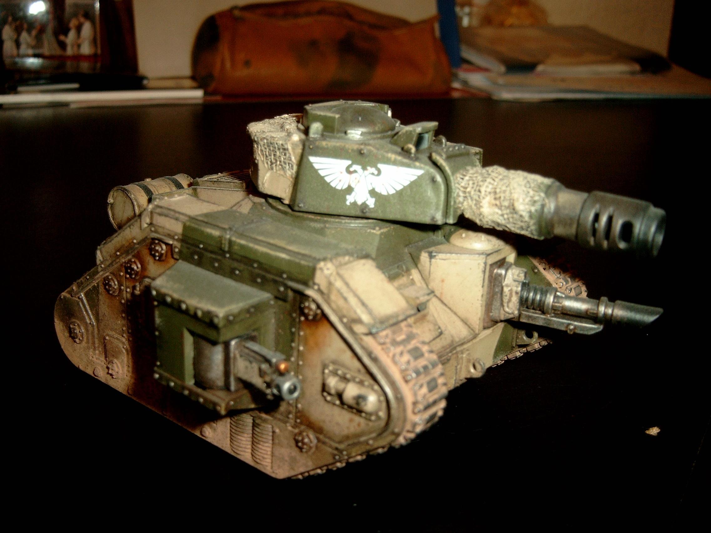 8th, Battle Tank, Cadians, Imperial Guard, Leman Russ, Tank, Warhammer 40,000