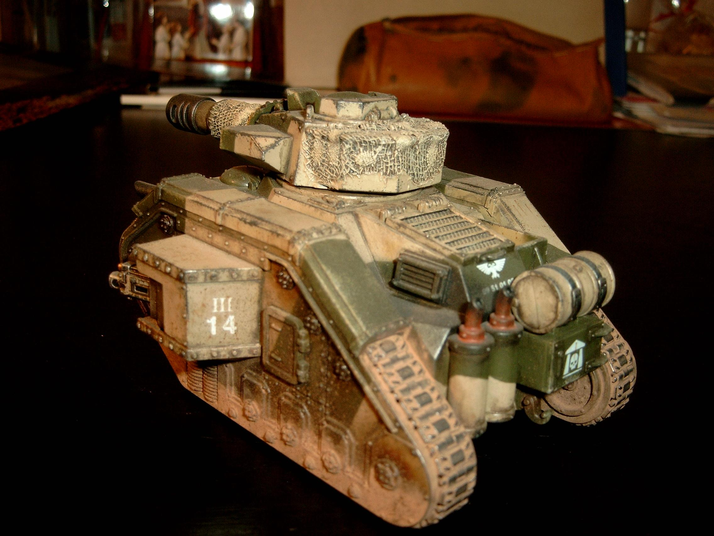 8th, Battle Tank, Cadians, Imperial Guard, Leman Russ, Tank, Warhammer 40,000