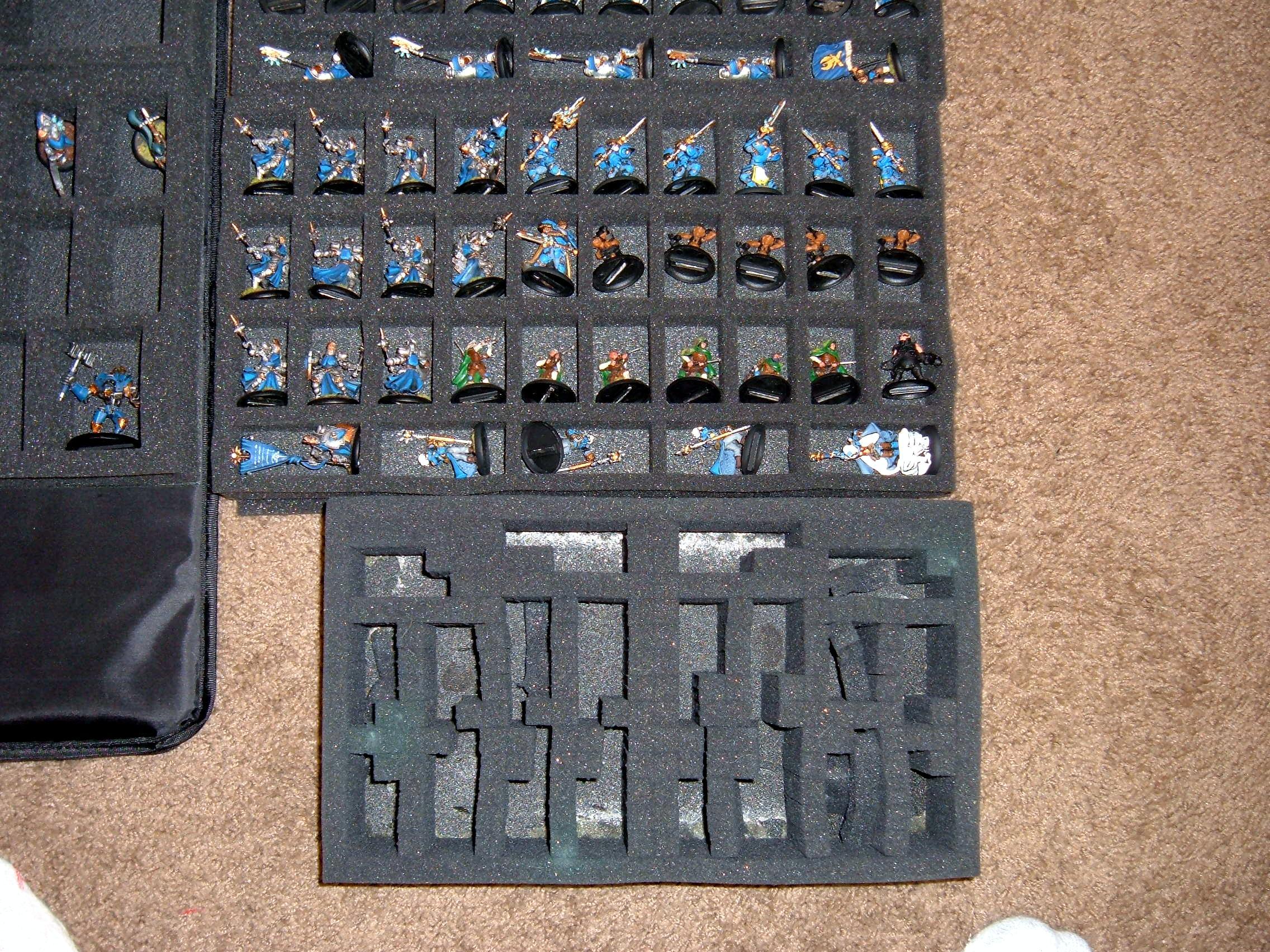 Battlefoam, Cygnar, Warmachine