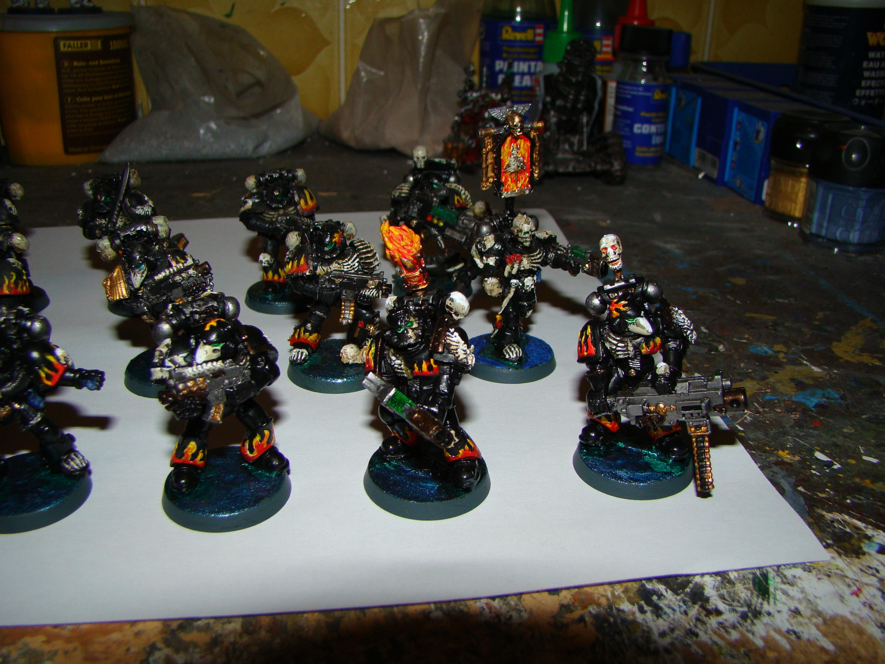 Legion Of The Damned, Space Marines, Warhammer 40,000