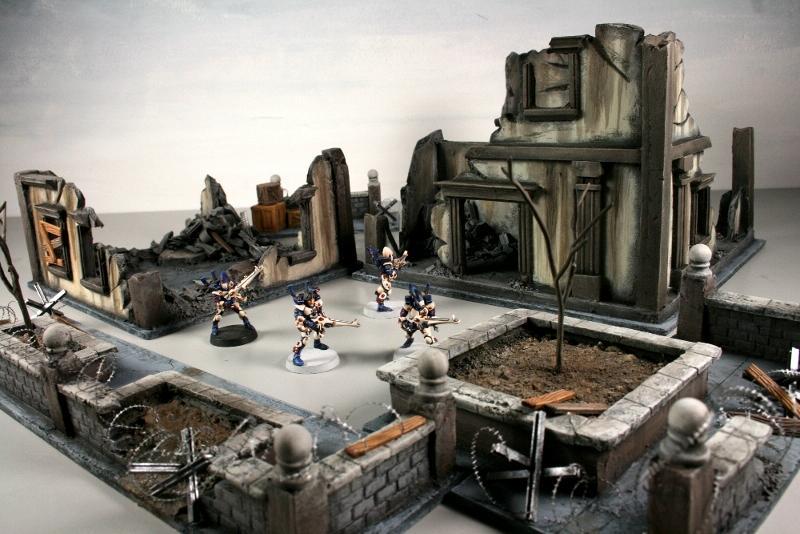 City, Ruins, Terrain
