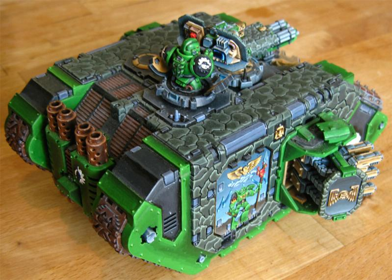 Awesome, Land Raider, Land Raider Crusader, Salamanders