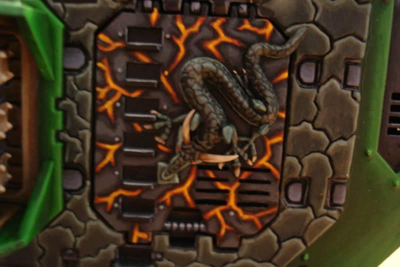 Conversion, Land Raider, Salamanders, Warhammer 40,000