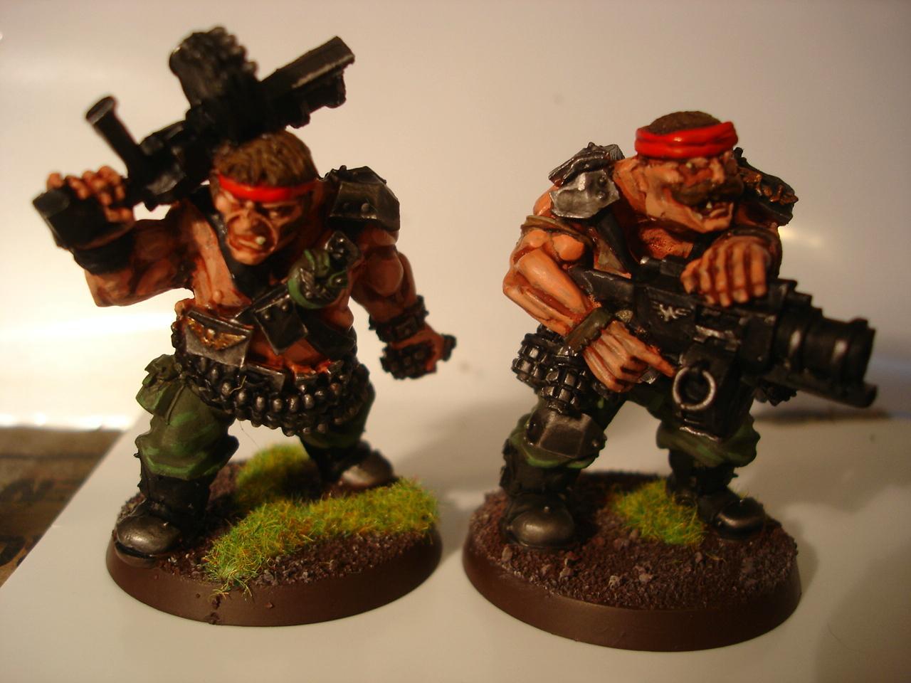 Catachan, Imperial Guard, Ogryns, Warhammer 40,000, Warhammer Fantasy