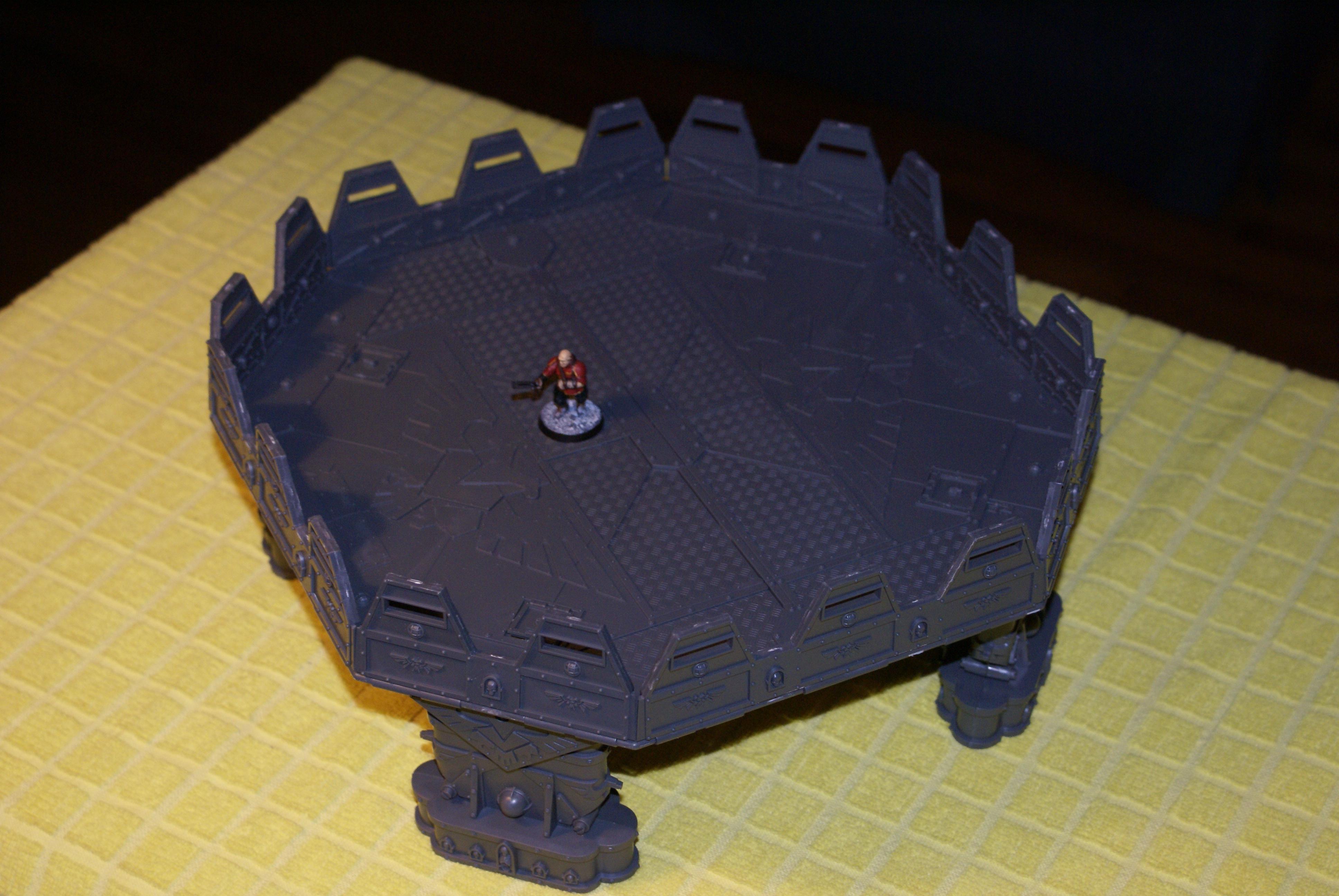 Landing Pad, Planet Strike, Terrain