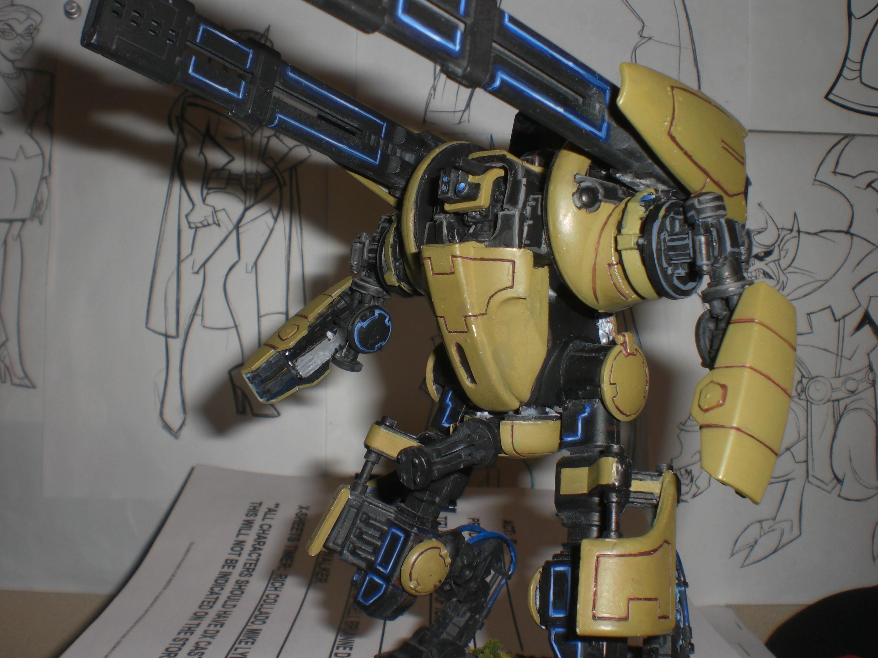 Battlesuit, Hammerhead, Railgun, Tau, Transformer