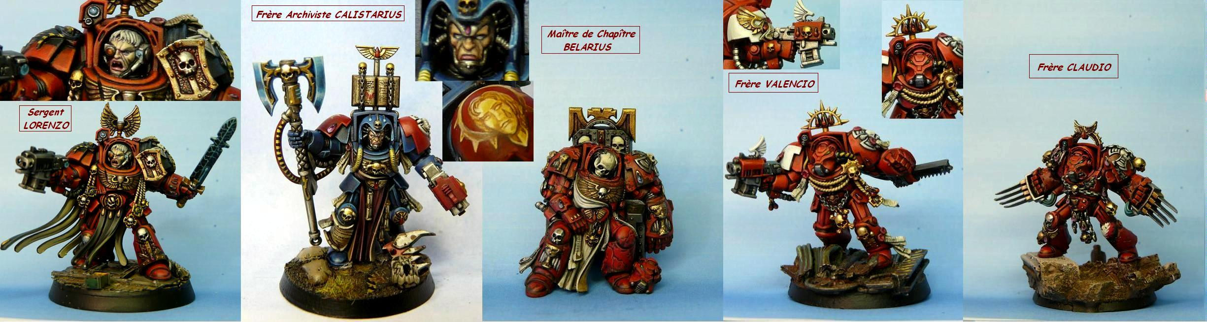 Blood Angels, Foece Weapon, Librarian, Power Fists, Power Sword, Space Hulk, Terminator Armor