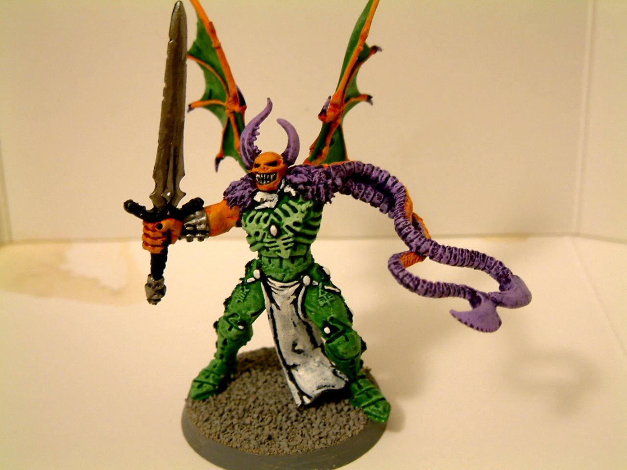 Chaos, Classic, Conversion, Daemonettes, Daemons, Fiends, Green, Old, Orange, Out Of Production, Purple, Slaanesh, Warhammer 40,000