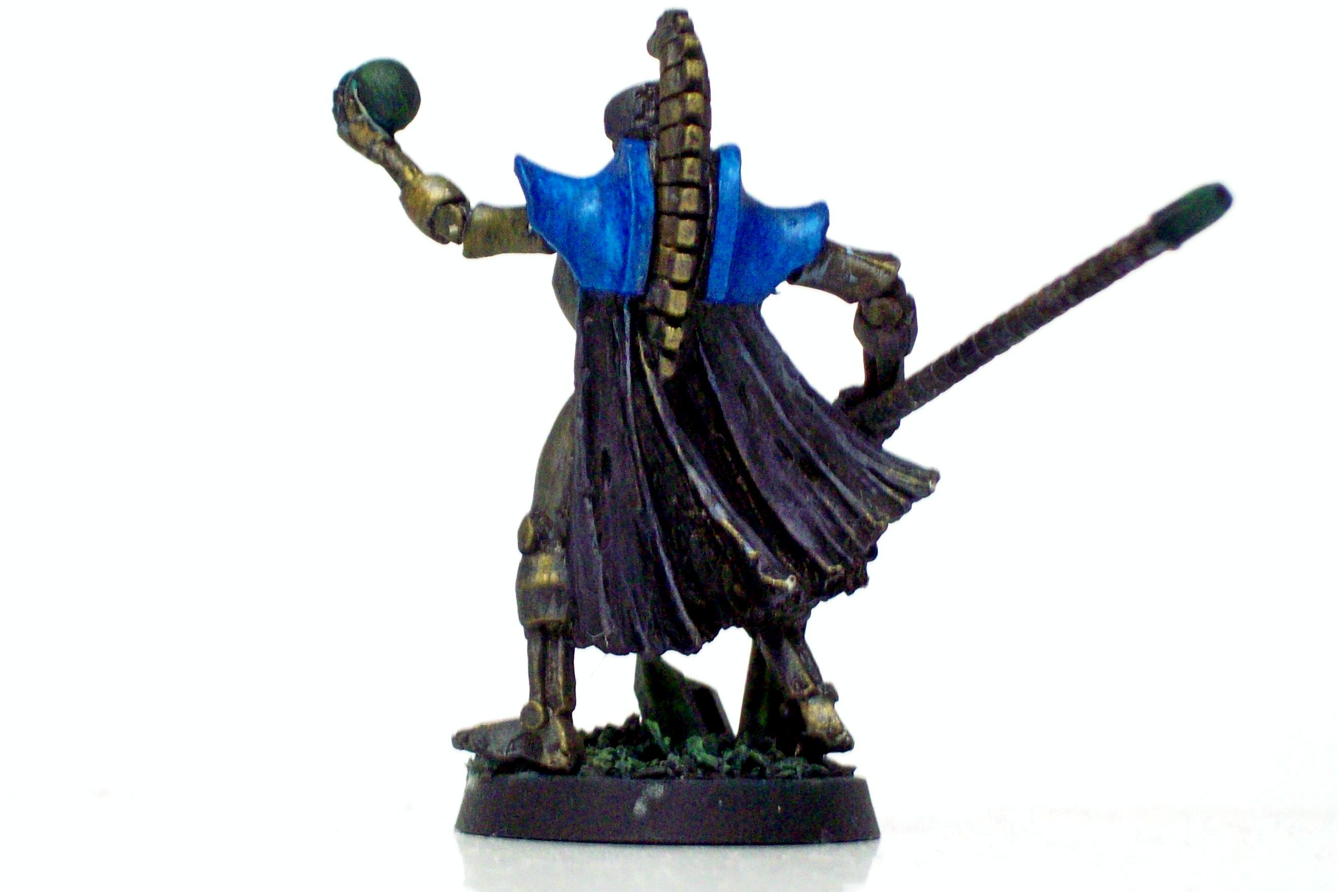 Lord, Necrons, necron lord back