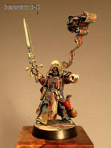 2009, Awesome, Golden Demon, Inquisitor, Warhammer 40,000