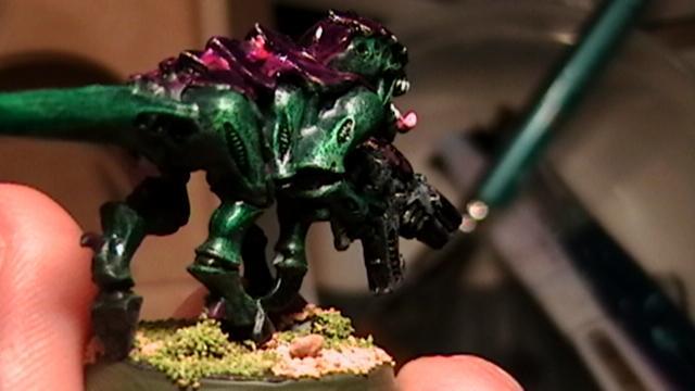 back view green goblin