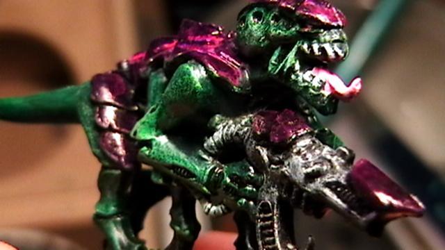 close up green goblin