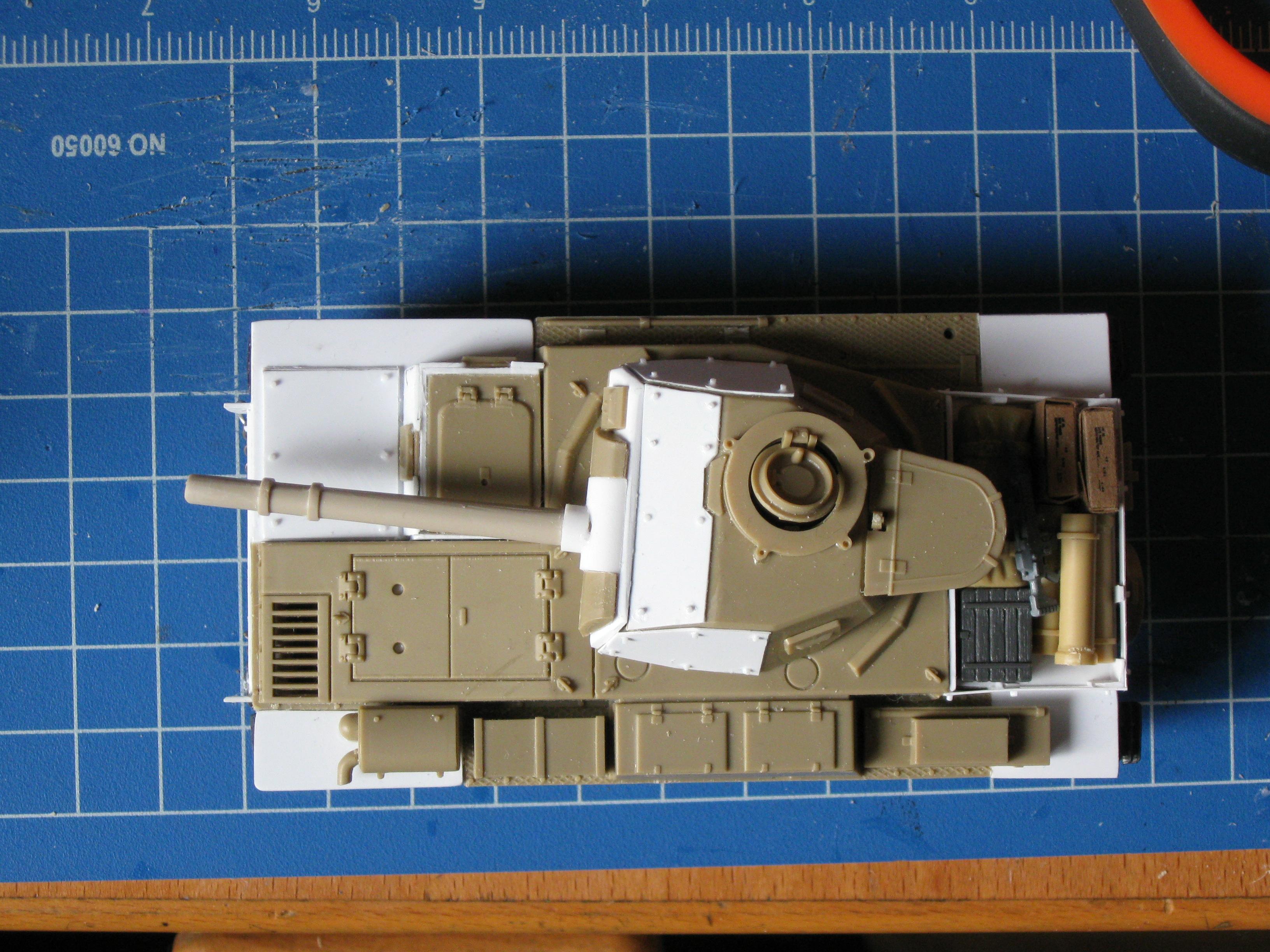 Conversion, Imperial Guard, Scratch Build, Tank, Warhammer 40,000