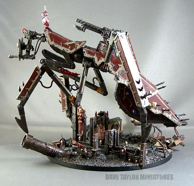 Chaos, Mantis Defiler, Stalk Tank, Vehicle