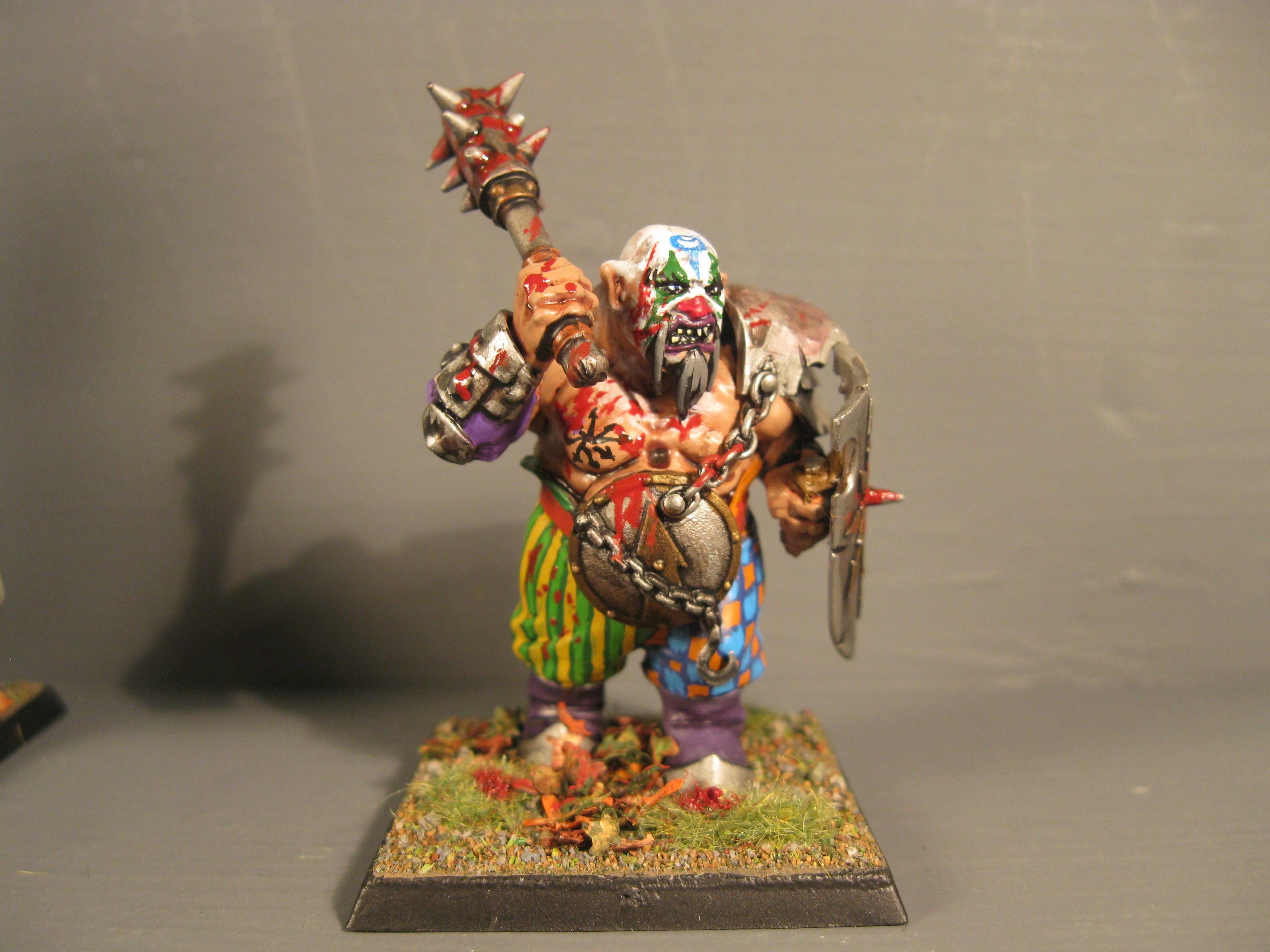 Chaos, Chaos Wariors, Ogres, Pro Painted, Rpg, Warhammer Fantasy
