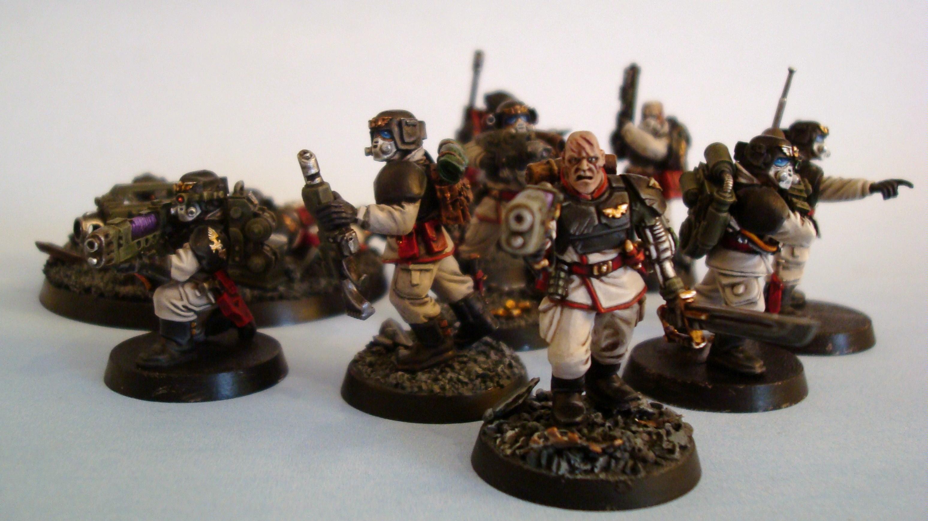 Imperial Guard, Rebreathers, Veteran Squad