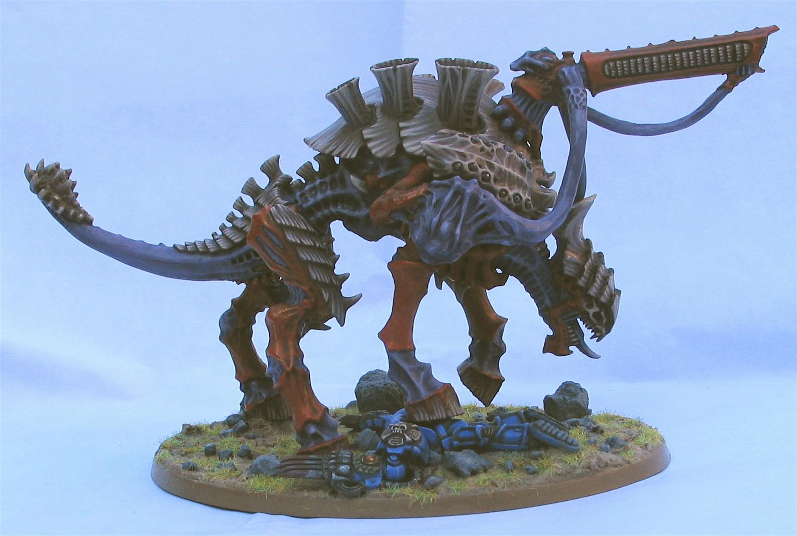 Conversion, Painted, Tyranids, Tyrannofex