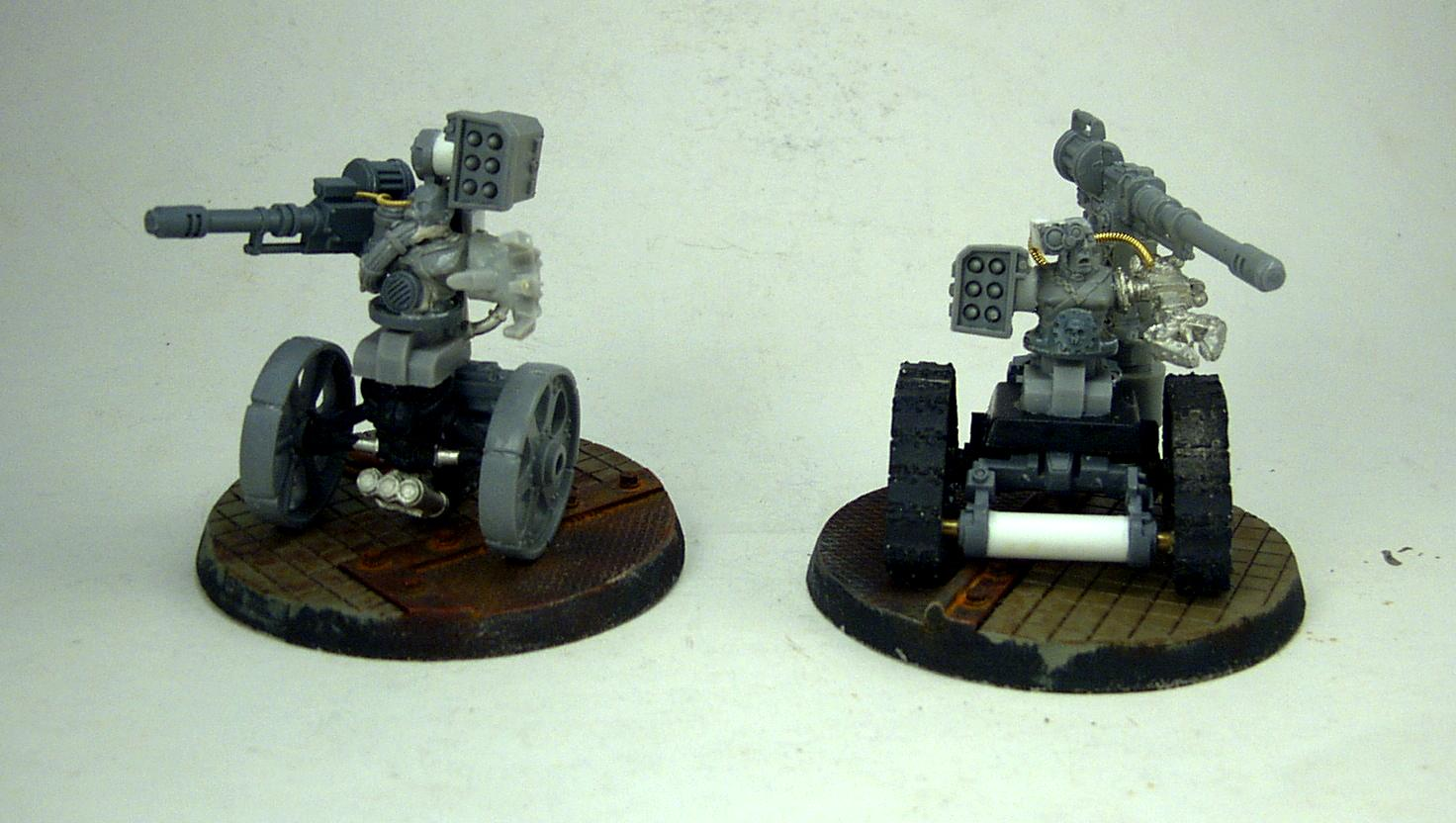 Adeptus Mechanicus, Sentinel, Servitors