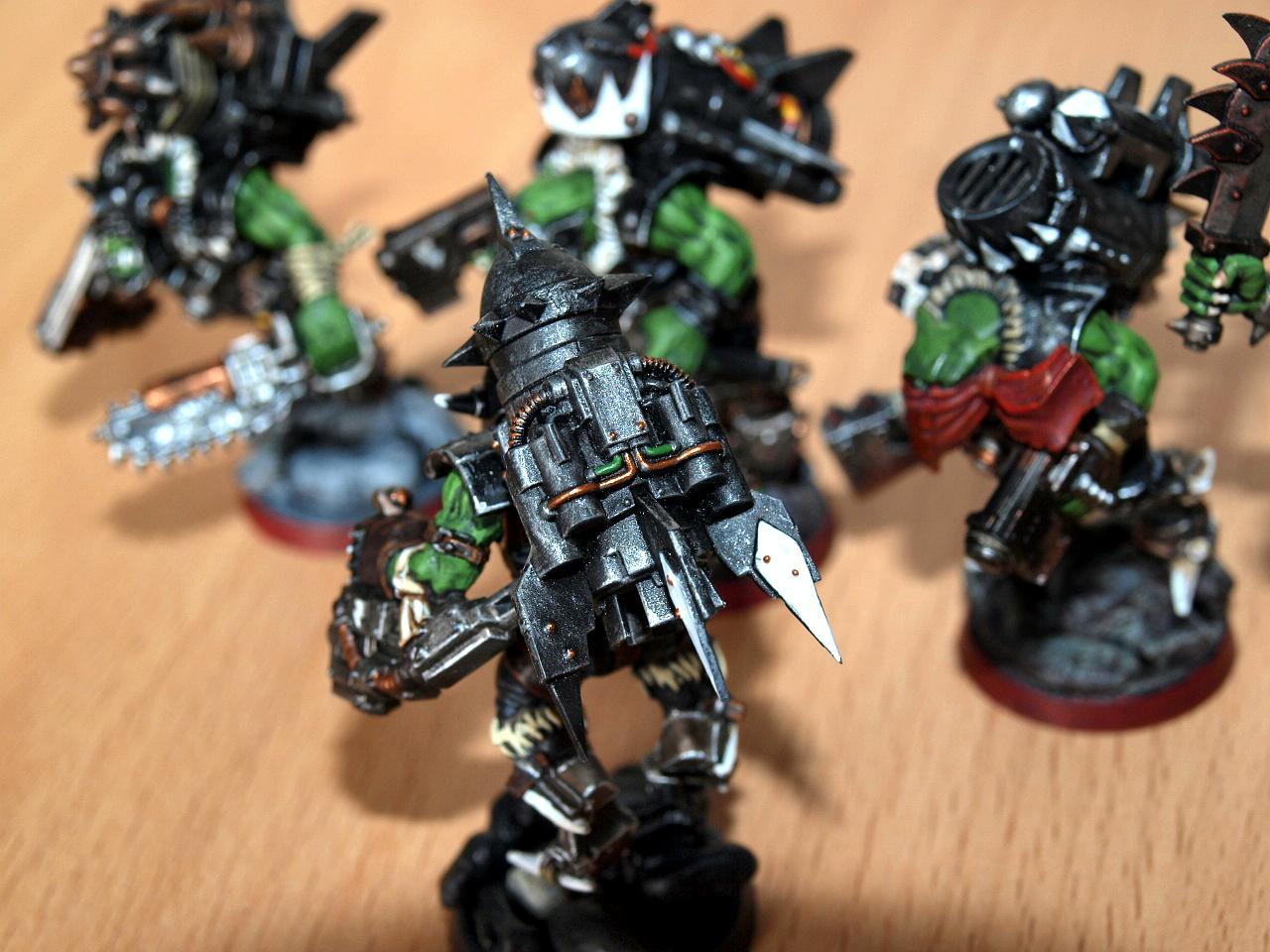 Orks, Rocket, Stormboyz