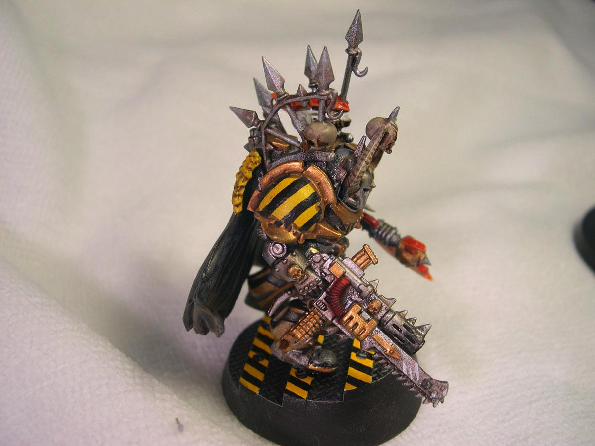 Chaos, Iron Warriors, Terminator Armor