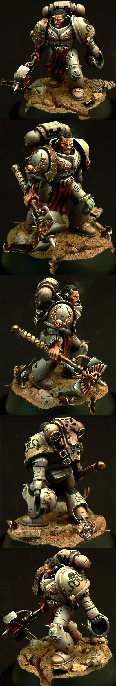 Awesome, Captain, Conversion, Games Workshop, Golden Demon, Painted, Space Marines, Warhammer 40,000