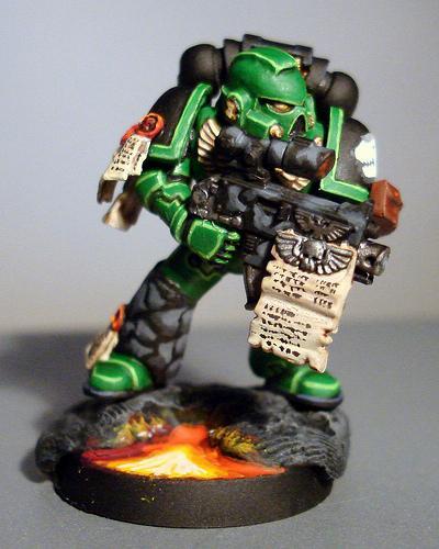 Lava, Salamanders, Space Marines